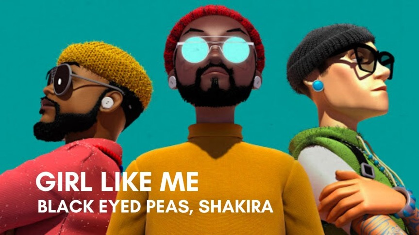 """Para os dançarinos de plantão! Shakira e Black Eyed Peas liberam clipe eletrizante para """"Girl LikeMe"""""""