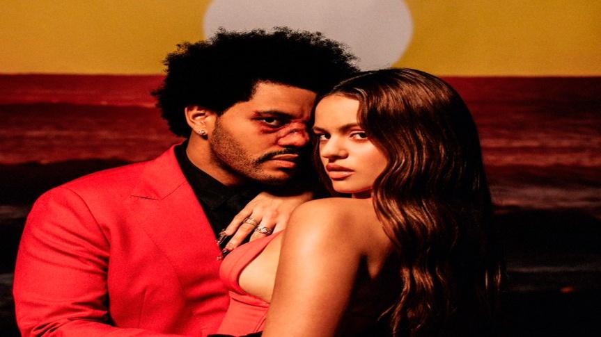 """Impossível não amar! The Weeknd lança remix de """"Blinding Lights"""" comRosalía"""