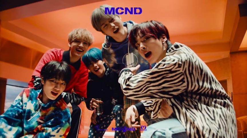 """MCND libera videoclipe para """"Crush"""""""